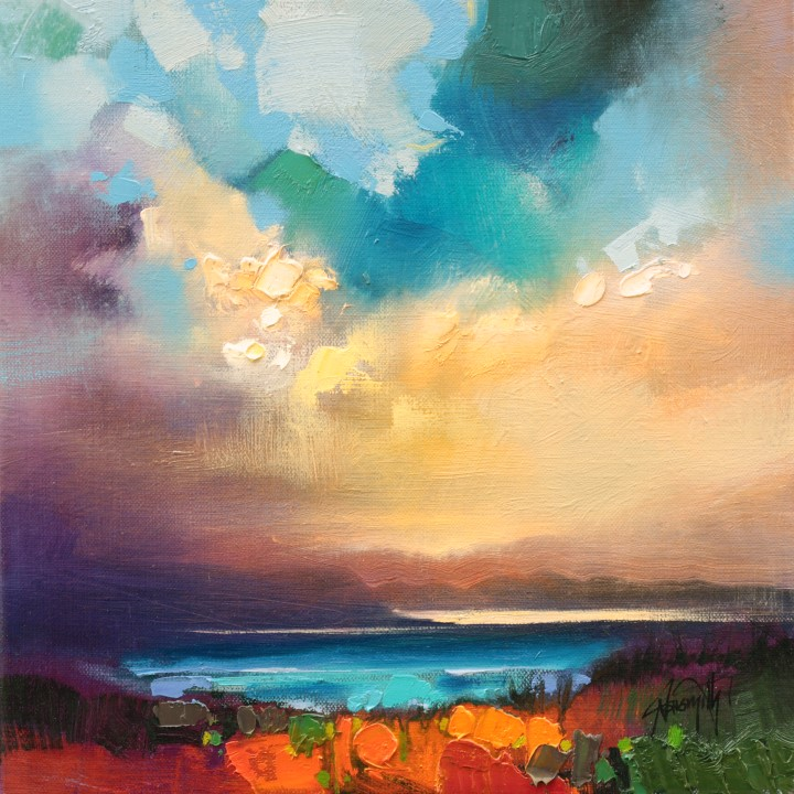 Arietta Sky Study by Scott Naismith