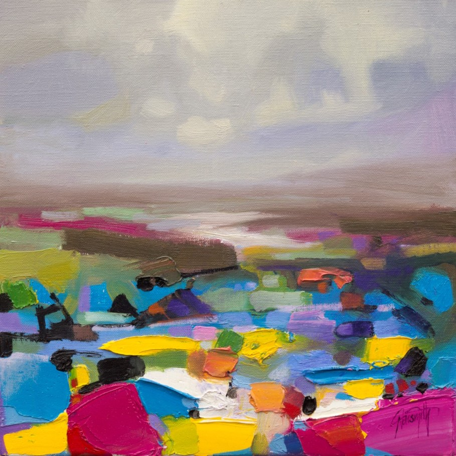 Potential Study 1 abstract landscape painting by Scott Naismith