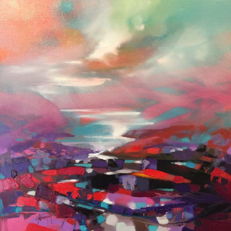 50cm Red Fragments by Scott Naismith