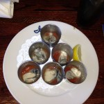 Oyster shooters!