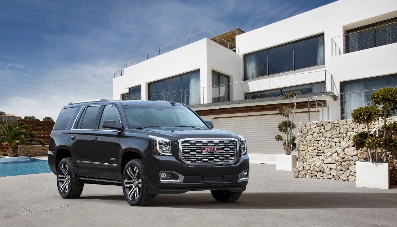 Wilcoxson Buick GMC is a Pueblo Buick  GMC dealer and a new car and     Wilcoxson Buick GMC is a Pueblo Buick  GMC dealer and a new car and used  car Pueblo CO Buick  GMC dealership   2018 GMC  Yukon Denali near Colorado Springs