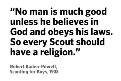 Robert Baden-Powell Every Scout Should Have a Religion