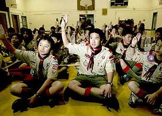 Boy Scout Image -- Asian American Scouts