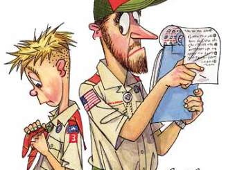 Boy Scout Image -- Board of Review