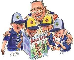 Boy Scout Image -- Boy's Life