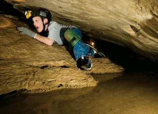 Boy Scout Image -- Caving2