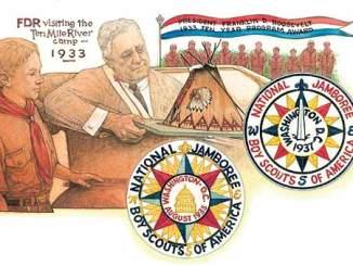 Boy Scout Image -- FDR Jamboree