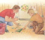 Boy Scout Image -- Fathers and Sons