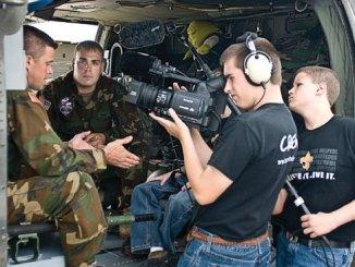 Boy Scout Image -- Film Making