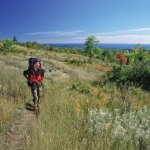 Boy Scout Image -- Hiking Isle Royale