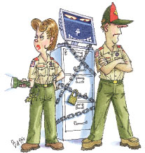 Boy Scout Image -- Medical Privacy