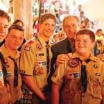 Boy Scout Image -- Post 911