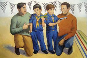 Boy Scout Image - Praises