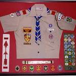 Boy Scout Image -- Scouting Uniform Display