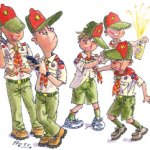 Boy Scout Image -- Youth Leaders
