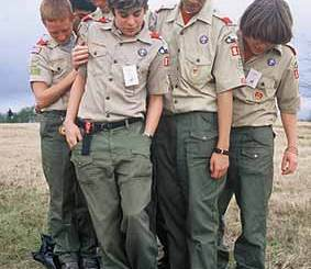 Boy Scout Image -- Youth Leadership New