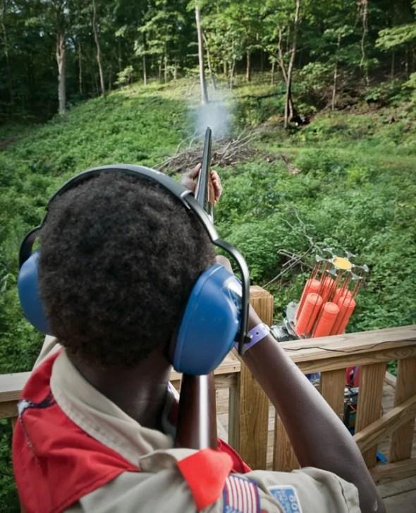Camp Geiger Shooting Range