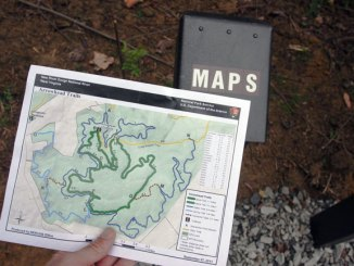 Arrowhead Hike and Bike Trail Map