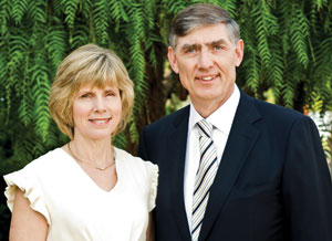 Wayne and Christine Perry