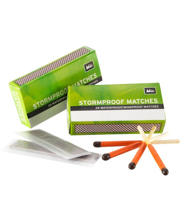 FIRE STARTERS: REI STORMPROOF MATCHES