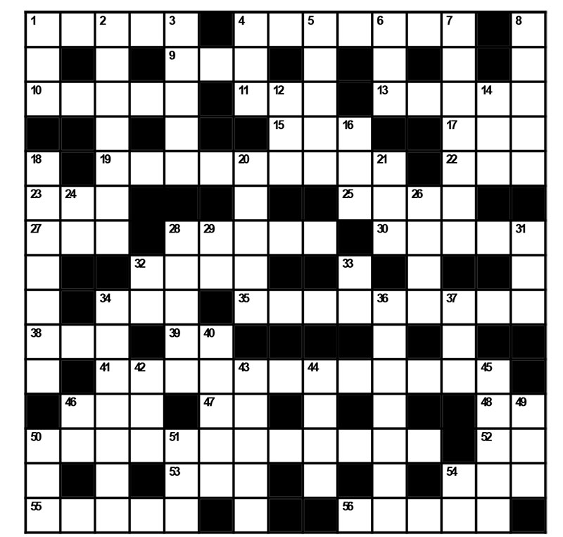 Test your winter-camping knowledge with this crossword puzzle