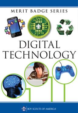 Digital Technology Merit Badge book