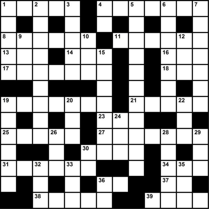 Council-Crossword-Blank