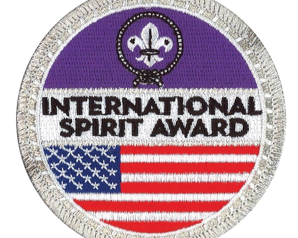 How to earn Scouting's International Spirit Award