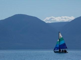 Sailing at Melita