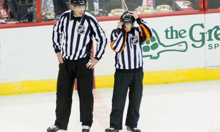 Tonight's NHL Referees & Linesmen – 4/4/15