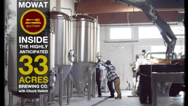 """BARLEY MOWAT: A Look Inside East Van's Highly Anticipated """"33 Acres Brewing Co."""""""