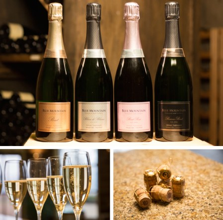 GOODS | Blue Mountain's Newest Sparkling Releases Met With Praise From Wine Critics