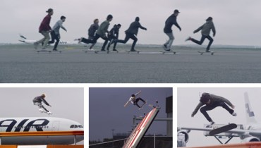VANCOUVER WOULD BE COOLER IF #242 | YVR Airport Invited Skateboarders To Ride