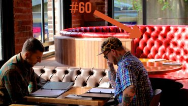 BEST SEAT IN THE HOUSE | The Better Of The Pair Of Gangster Booths At 'Chambar' Is #60