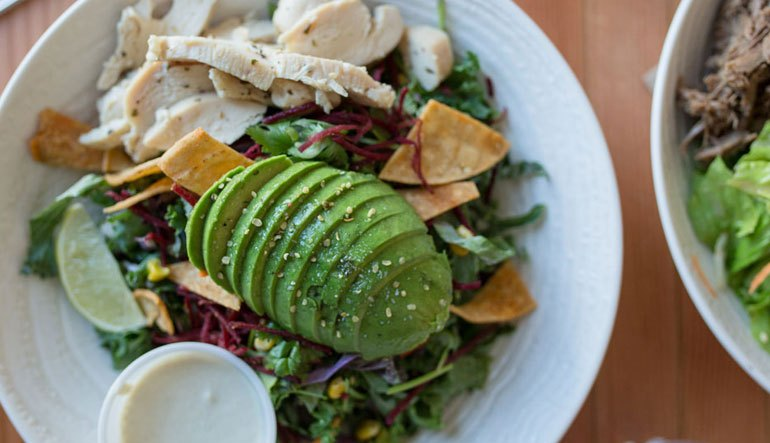 AWESOME THING WE ATE #987 | Harmony In A Bright, Busy Bowl At Ed's Daily On Powell St.
