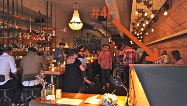 BEST SEAT IN THE HOUSE   Superb Sightlines From Table #41 At West Hastings' Wildebeest