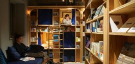 COOL THING WE WANT #495 | To Sleep One Night At Kyoto's Adorable 'Book & Bed' Hostel