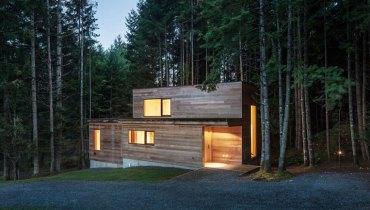 SPACED | Bright, Secluded Rainforest Retreat Tucked Away Somewhere On Vancouver Island