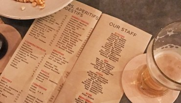 VANCOUVER WOULD BE COOLER IF #282 | Restaurant Staff Were Celebrated On Menus
