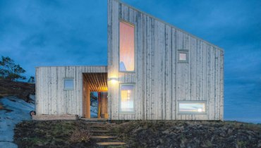 SPACED | Isolated, Wintry Cabin In Norway Would Suit A Rocky Perch Above Gonzales Bay