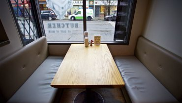 BEST SEAT IN THE HOUSE   Crossing Fingers For The Window Booth At The Ramen Butcher