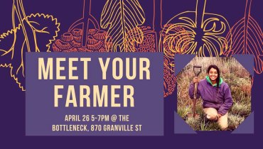 GOODS | The Bottleneck Pairs With Earthwise For CSA Pick-Ups & 'Meet Your Farmer' Event
