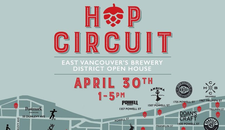 GOODS   Parallel 49 Brewing Company Primed For Hop Circuit Open House – Sunday, Apr. 30