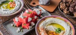 GOODS | Lebanese 'Jamjar' Readies Summer Happy Hour Specials And New Beer Hummus