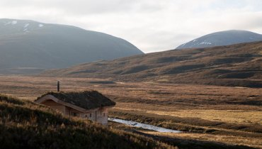 SPACED | Feasting Hut In The Scottish Wilds Would Suit The Desolate Okanagan Highlands