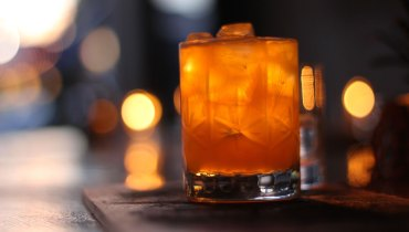 AWESOME THING WE DRANK | The Timely 'Campfire' Cocktail At Nomad On Main Street