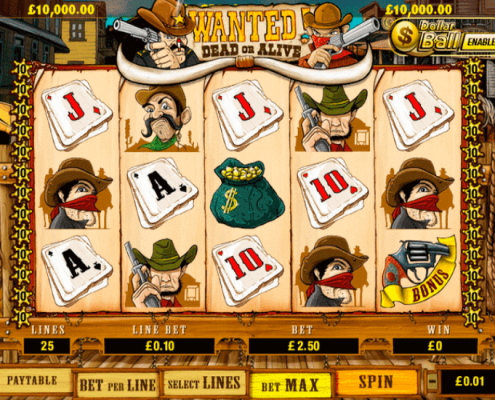 scr888 online slot game Wanted Dead or Alive