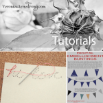 3 Tutorials | Photography, Digital Scrapbooking and Hand Stitching
