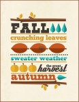 2 Fall Freebies |Digital Kit and Printable Poster