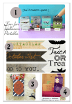 4 Fun {& free} Halloween Printables